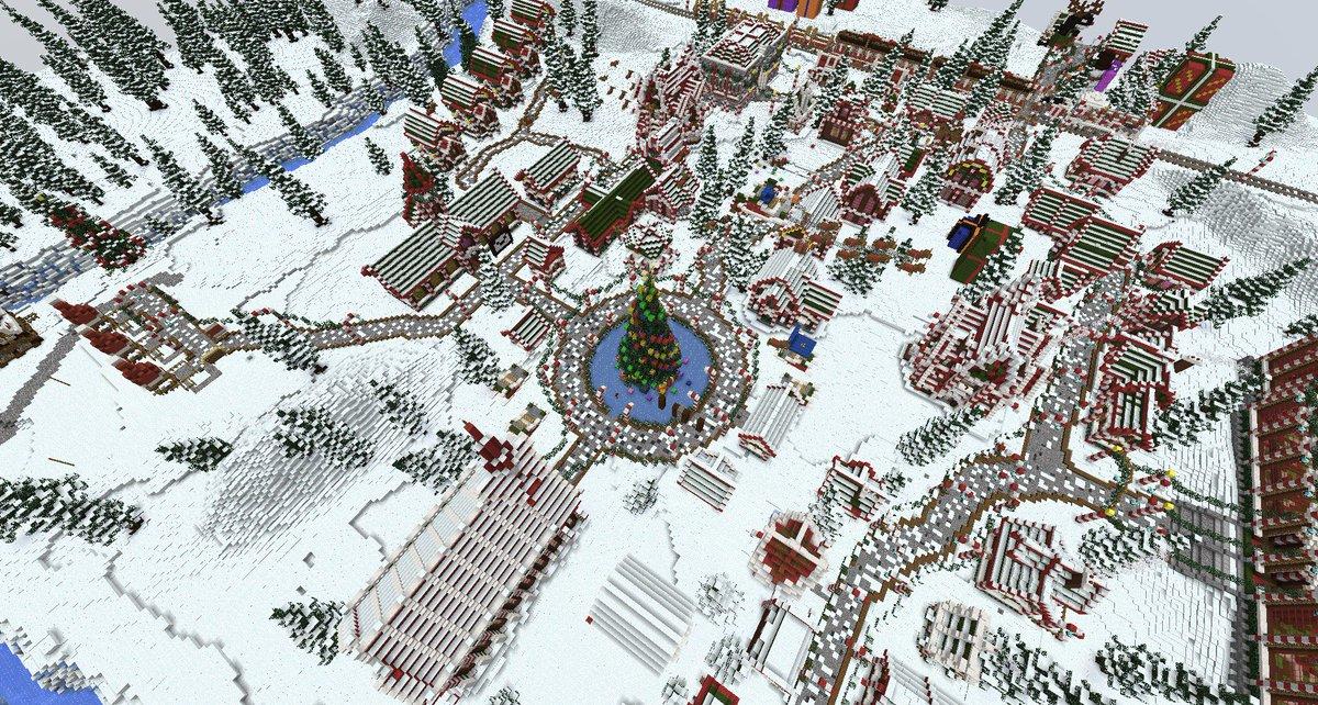 Eine Eventwelt zu Weihnachten