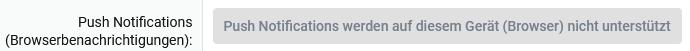Push Notifications im Browser