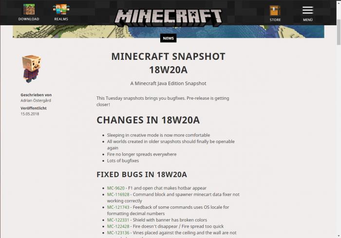 Infos Zu Minecraft Seite Unlimitedworld - Minecraft pe server passwort erstellen